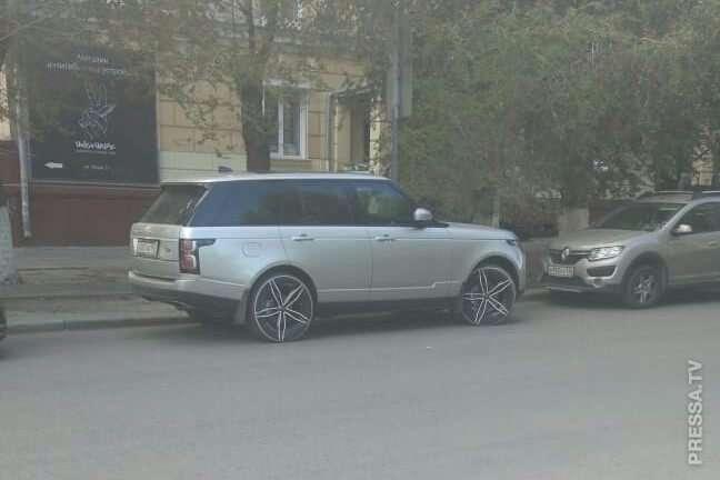 Что не так с этим Range Rover?