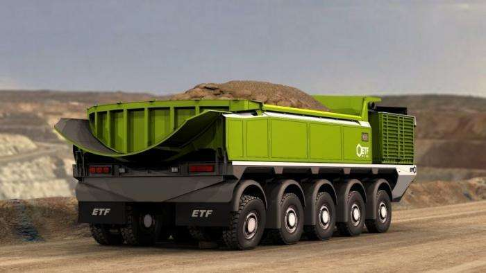 Самый большой грузовик в мире из Словении грузоподъемностью 760 тонн -7 фото + 1 видео-
