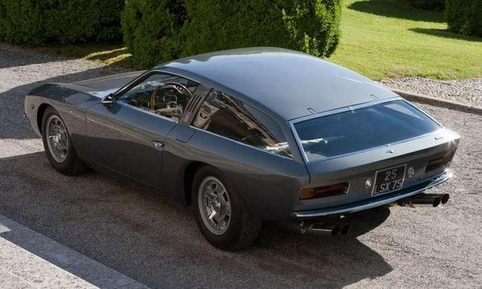 Lamborghini Flying Star II Concept 1966 - Упавшая звезда-12 фото-