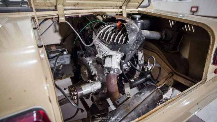 Мотоколяска СМЗ С-3Д -Инвалидка- с минимальным пробегом-9 фото-