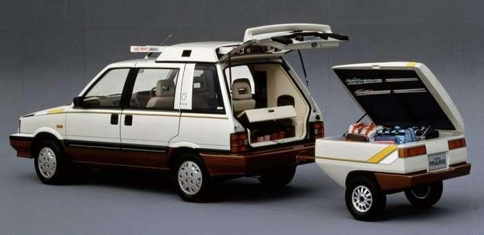 Nissan Prairie Winter Space Wagon - Концепт для любителей зимних видов спорта-9 фото-