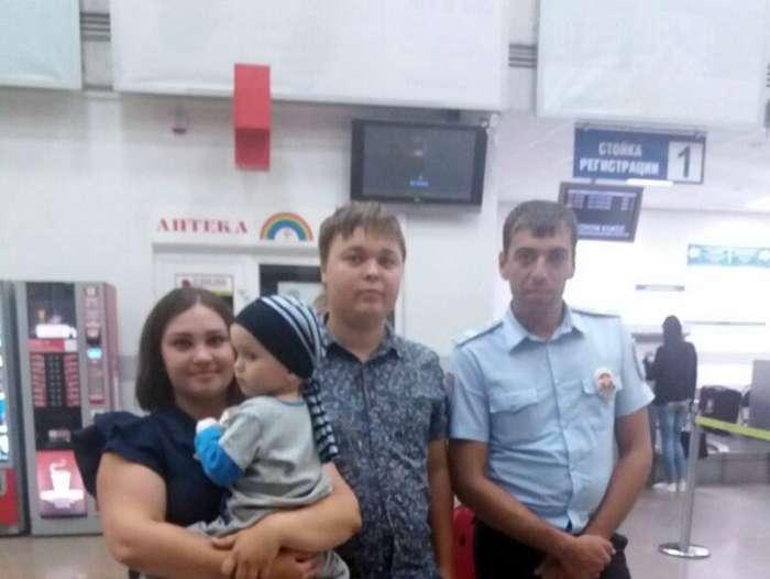 Владимир Епископостов спас 2-х летнего малыша