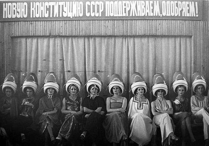 Популярные стрижки и прически в СССР