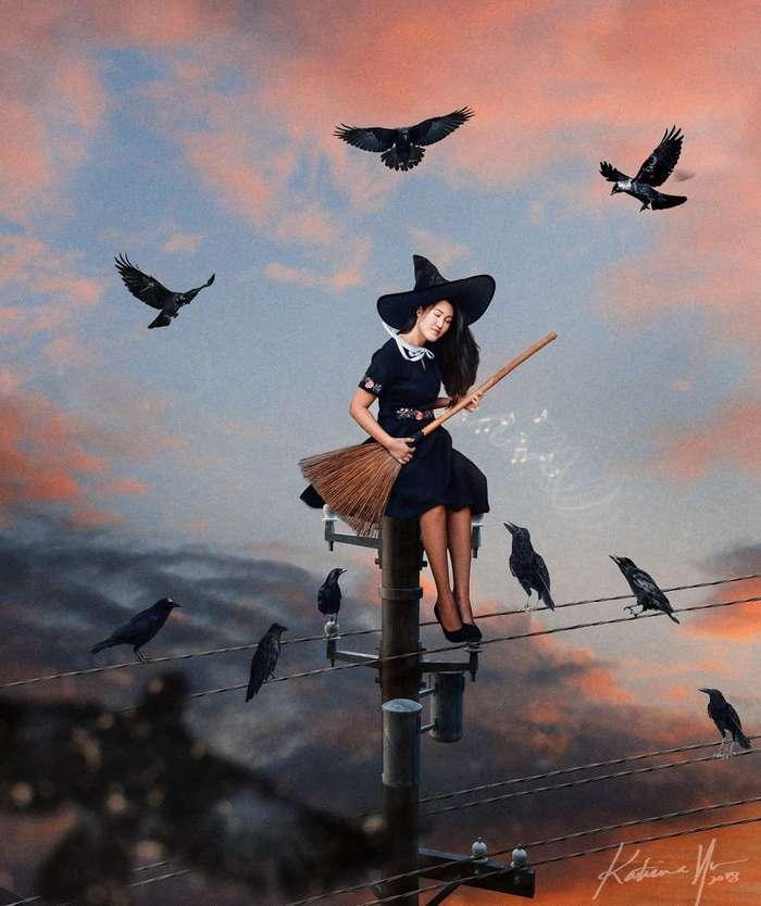 Как могла бы выглядеть жизнь современной ведьмы