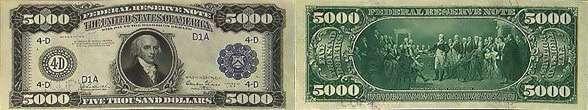Банкнота в 100 000 $