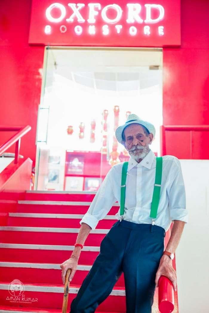 Парень нарядил своего 98-летнего дедулю как хипстера, и тот снова почувствовал себя молодым