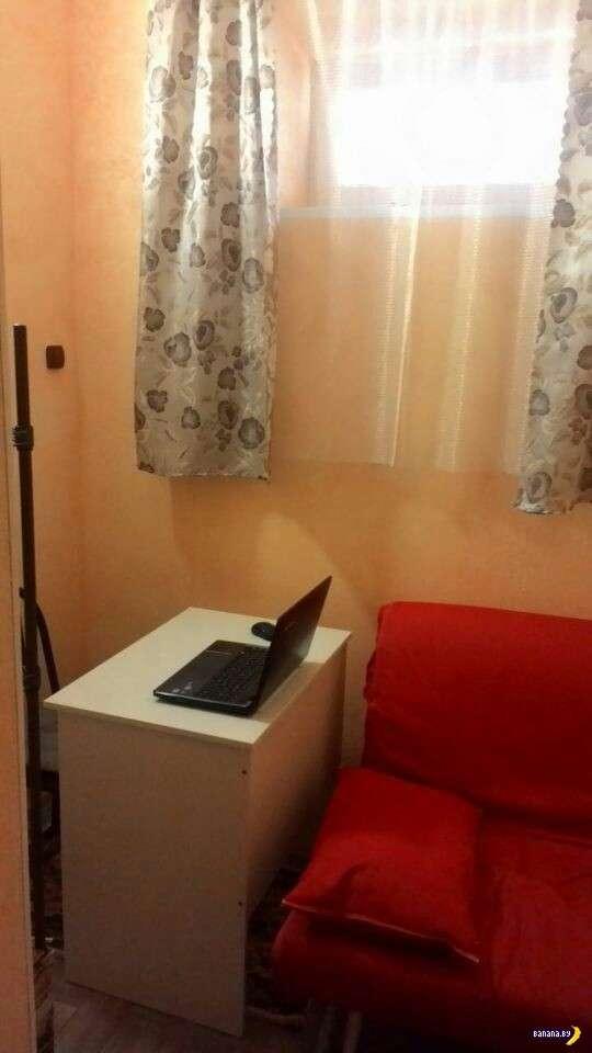 Квартира мечты: общая площадь 6.1 квадратных метра!