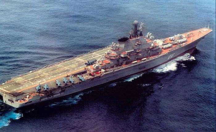 Прошлое, настоящее и будущее российских авианосцев -7 фото-