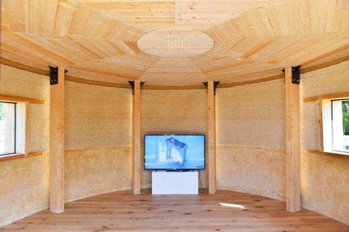 В Италии на 3D-принтере напечатали дом из грязи за $1000 -8 фото + 1 видео-