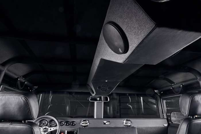Новое рождение Hummer H1: ателье Mil-Spec нашло способ улучшить военный внедорожник-22 фото-