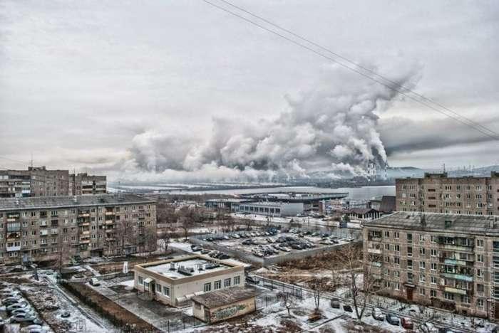 Антиэкологичные города России-5 фото-