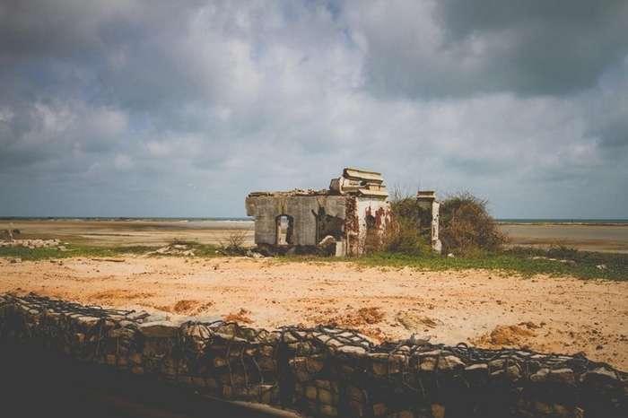 Город Призрак, Уничтоженный циклоном-12 фото-