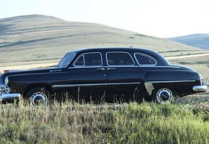 ГАЗ-12 -ЗИМ- из Армении на базе современной -Волги--18 фото + 1 видео-
