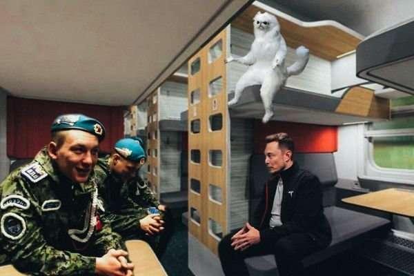 Россияне высмеяли новые плацкартные вагоны РЖД-16 фото-