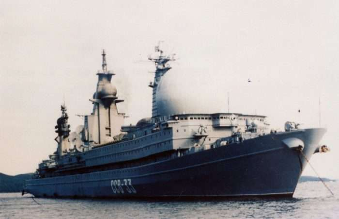 Разведывательный корабль -Урал-: с верфи на металлолом