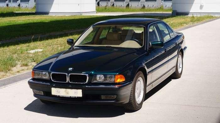 Новенький BMW 740i E38 1997 года продается в Польше
