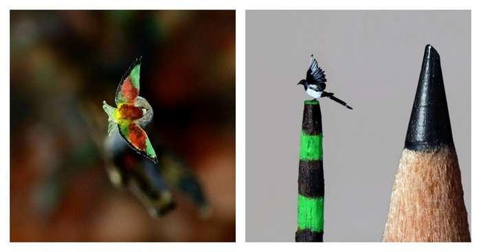 Девушка создает настолько миниатюрных птиц, что окружающий мир перестает существовать