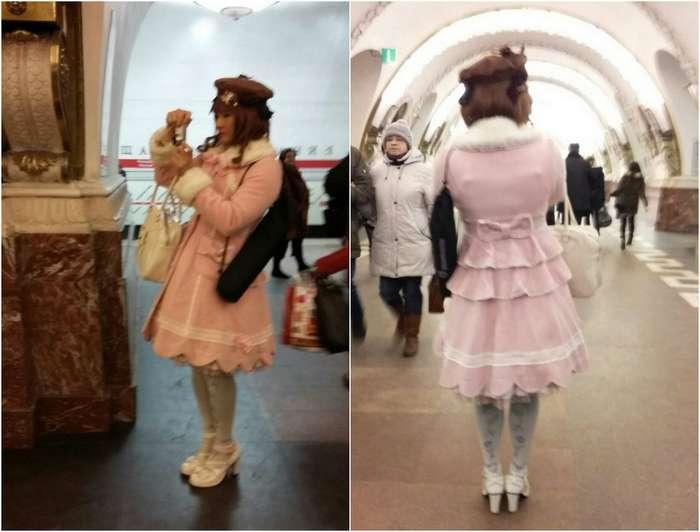 Модники из российского метрополитена 29-12-2018 73596