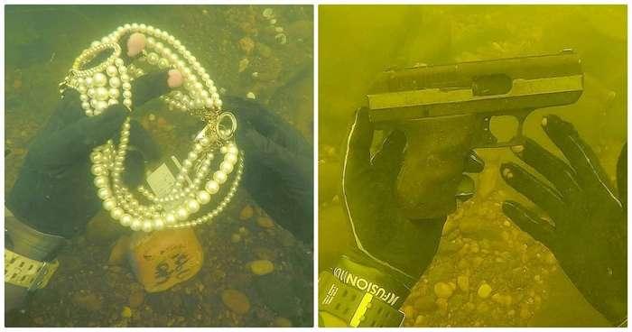 15 крутых находок, которые со дна морского поднял охотник за сокровищами