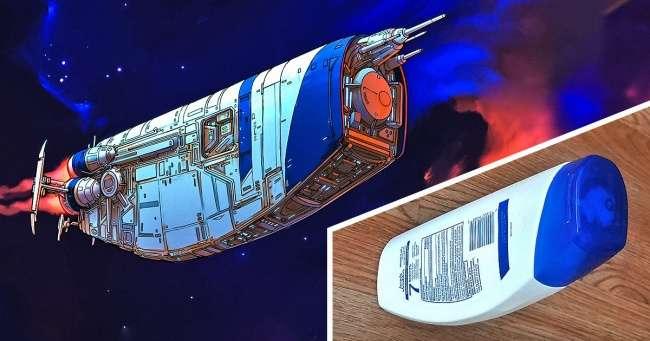 Художник превращает обычные предметы внечто космическое (Выбольше несможете смотреть налимон как раньше)