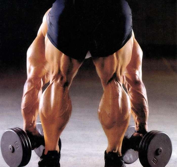 Ноги-базуки: бодибилдер с самыми большими икроножными мышцами в мире
