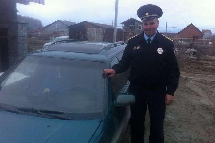Александр Братко спас женщину на трассе