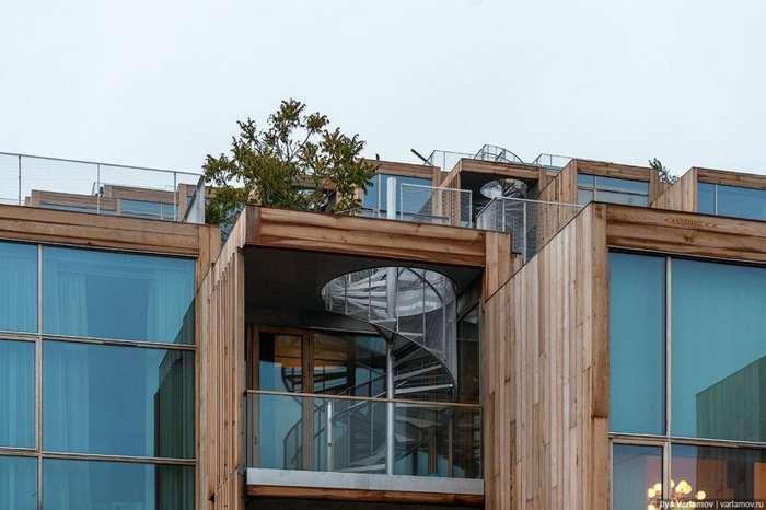 Стокгольм из дерева и стекла-55 фото-