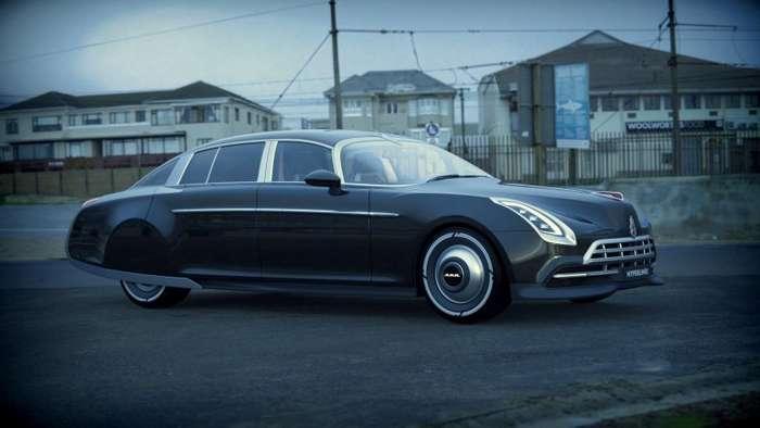 -Гиперлайнер- - легендарный ГАЗ-12 ЗИМ в современном обличии-23 фото + 1 видео-