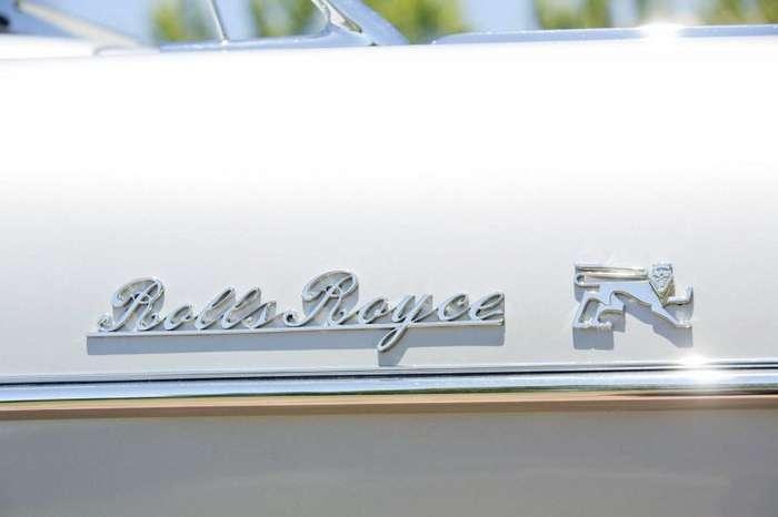 Необычный Rolls-Royce Silver Wraith Special Saloon со встроенным унитазом-12 фото-