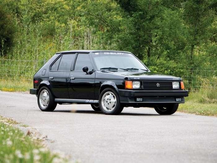 Dodge Omni Shelby GLHS 1986: горячий хэтчбек по-американски (9 фото)