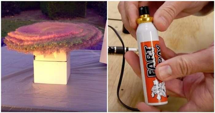 Умная бомба с блёстками и незабываемым запахом для воров посылок-3 фото + 1 видео-