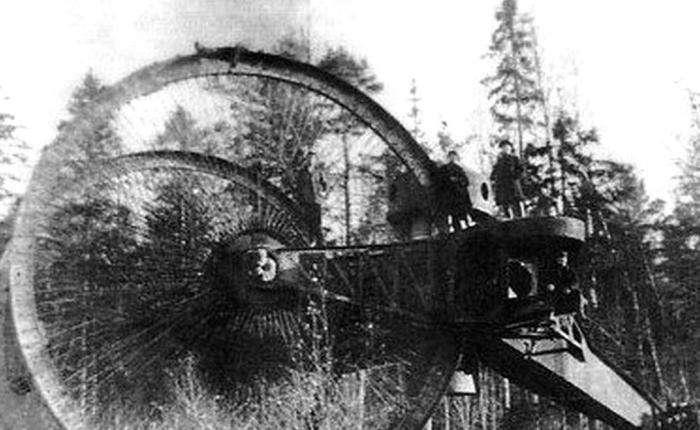 Самые странные боевые машины в истории -5 фото-