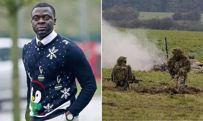 Солдат из Африки обвинил Министерство обороны в холодной зиме-4 фото-