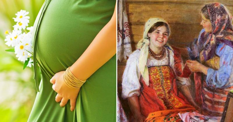 Как на Руси определяли пол будущего ребенка?-4 фото-