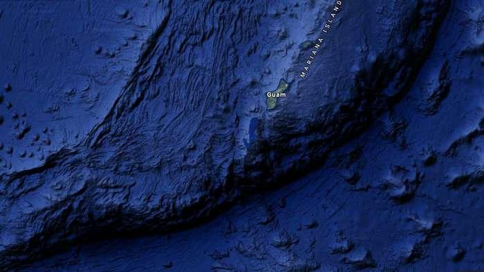 Любопытные факты о Марианской впадине
