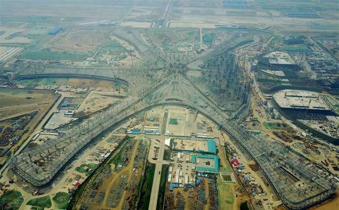В Китае строится самые большой в мире аэропорт