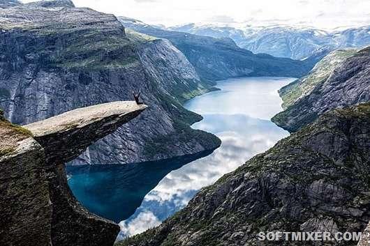 Удивительные достопримечательности Норвегии