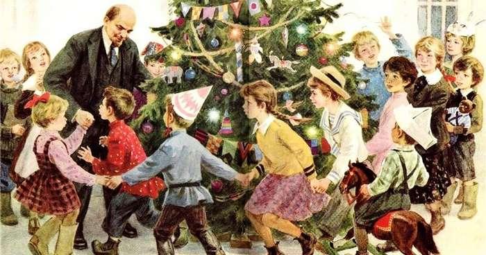 История новогодней елки