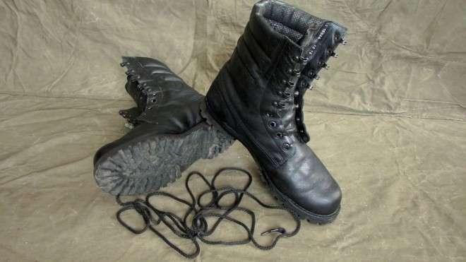 Лайфхаки для обуви от солдат