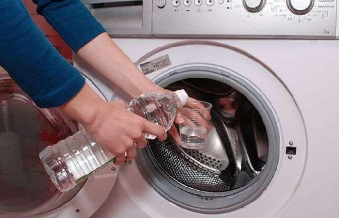 Простой способ очистить стиральную машину от накипи