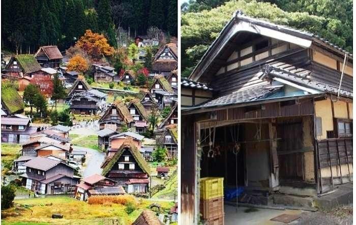 В Японии раздают дома совсем даром, но есть определенные условия