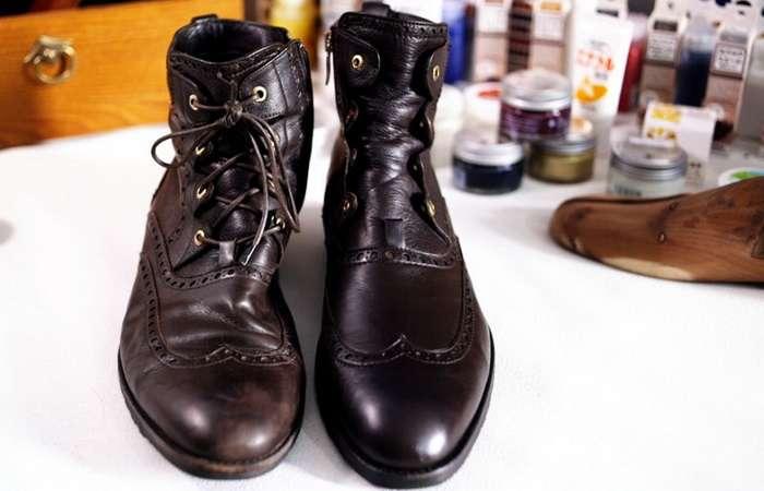 Как ухаживать за обувью зимой: Простые способы избавиться от царапин и следов от соли