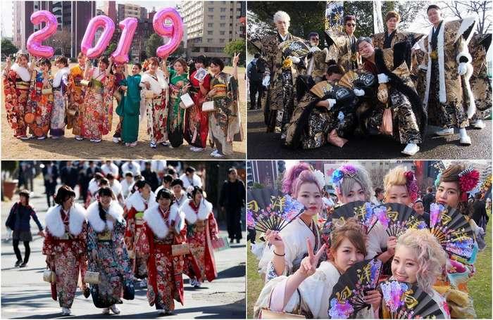 День совершеннолетия в Японии 2019