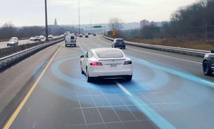 Что видит автопилот с нейронной сетью от Tesla во время движения-1 фото + 2 видео-