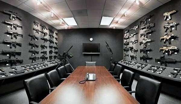 Как американцы любят оружие-34 фото-