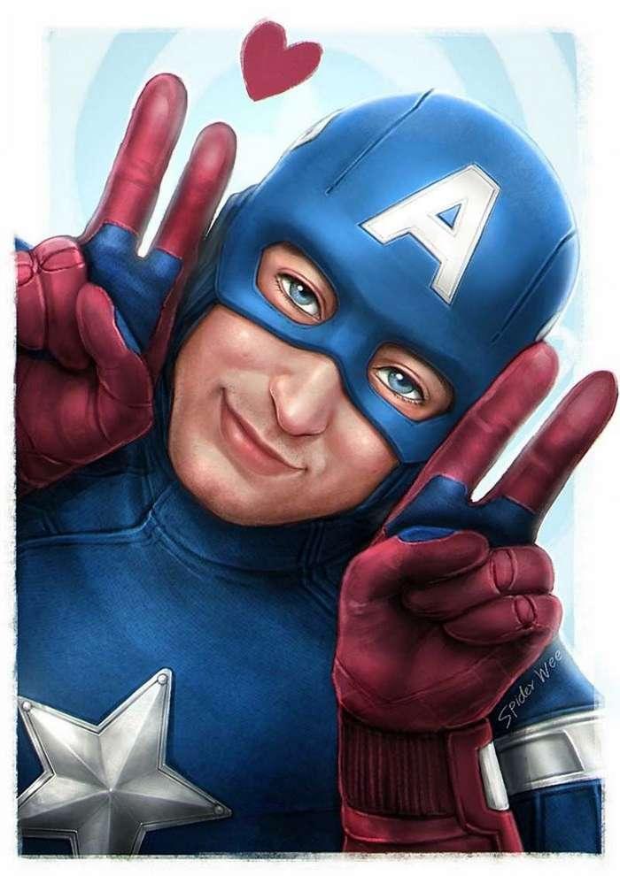 Как выглядят супергерои, когда они не заняты борьбой со злом-16 фото-