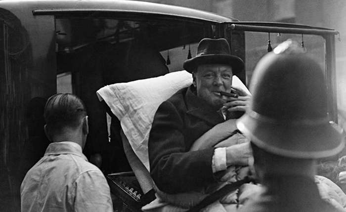Неизвестный Черчилль: шампанское, бифштексы на завтрак и ночи за работой-1 фото-