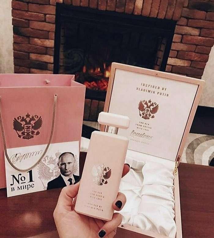 В Москве начали продавать духи, посвященные Путину-13 фото-