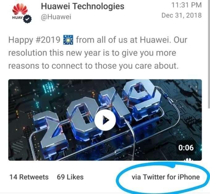 Сотрудникам Huawei попало за iPhone-5 фото-