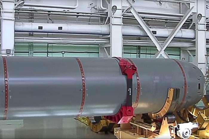 Раскрыты технические характеристики ядерного -Посейдона--4 фото-